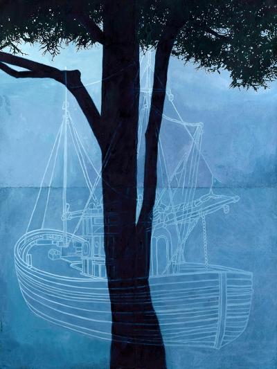 Ghost Ship One, 2012-Graham Dean-Giclee Print