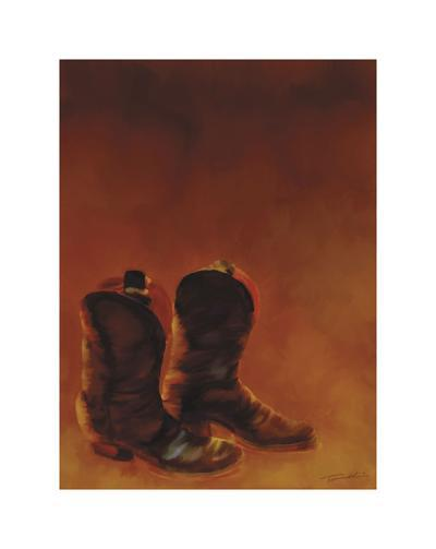 Ghost Town II-Tandi Venter-Giclee Print
