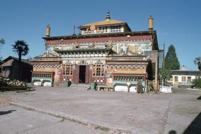 Ghum Monastery, Near Darjeeling, West Bengal, India-Vivienne Sharp-Photographic Print