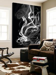 Black Smoke Abstract by GI ArtLab