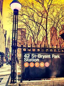 Bryant Park Station by GI ArtLab