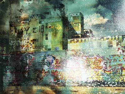 City Scrim A by GI ArtLab
