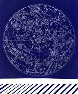 Constellation Chart D by GI ArtLab