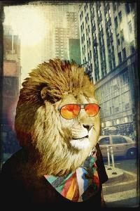 King Lion of the Urban Jungle by GI ArtLab