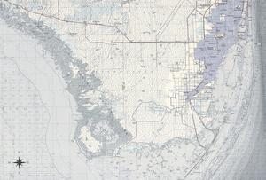 Miami Map B by GI ArtLab