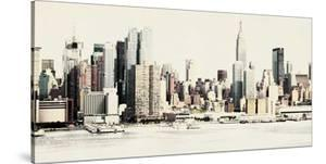 New York Waterfront A by GI ArtLab