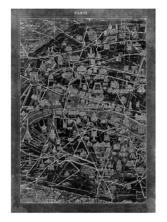 Paris Map by GI ArtLab