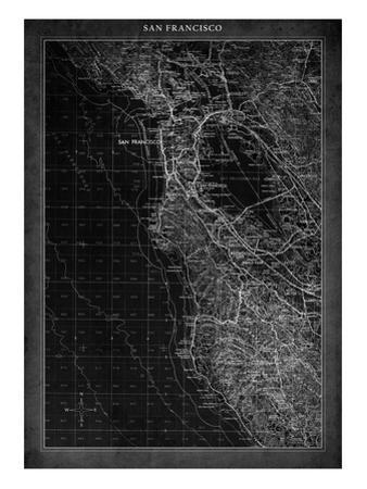 San Francisco Map A by GI ArtLab