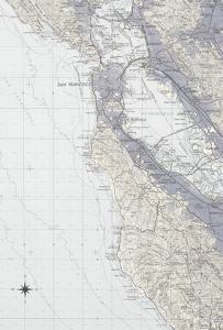 San Francisco Map B by GI ArtLab
