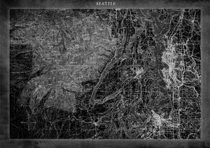 SeattleMap A by GI ArtLab