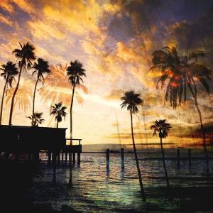 Sunset on the Pier B by GI ArtLab