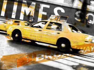 Times Square Taxi by GI ArtLab