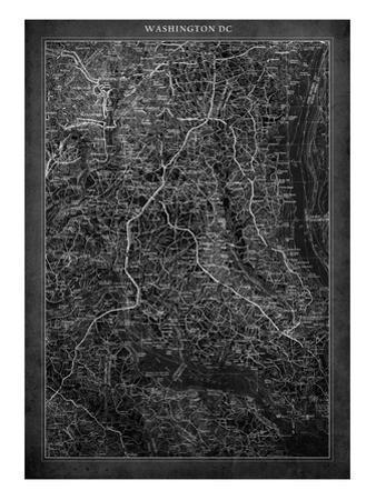 Washington DC Map A by GI ArtLab