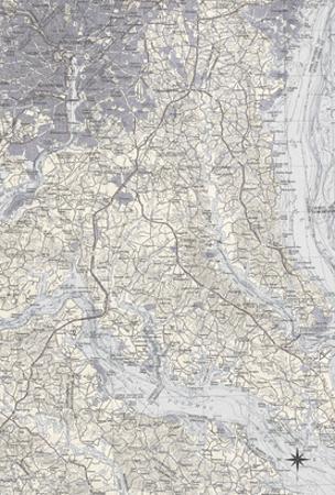 Washington DC Map B by GI ArtLab