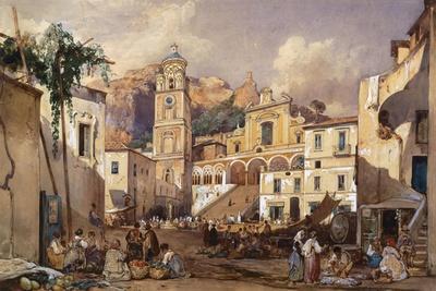 Amalfi Cathedral, 1866