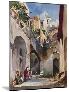 Houses on the Costiera of the Sorrentine Peninsula by Giacinto Gigante