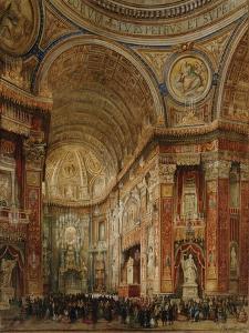St. Peter's Basilica, Rome by Giacinto Gigante