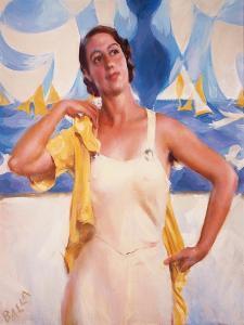Daughter of the Sun by Giacomo Balla