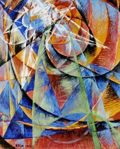 Mercury Passing Before the Sun by Giacomo Balla