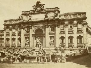 The Trevi Fountain by Giacomo Brogi