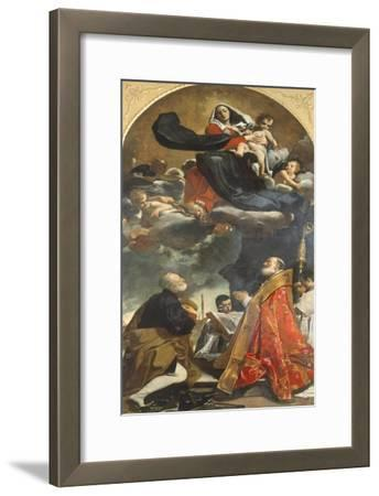 Altarpiece Depicting Virgin with Saints Petronius and Alo, 1614