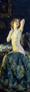In Mirror, 1914 by Giacomo Grosso