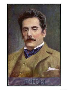 Giacomo Puccini Italian Opera Composer in Middle Age