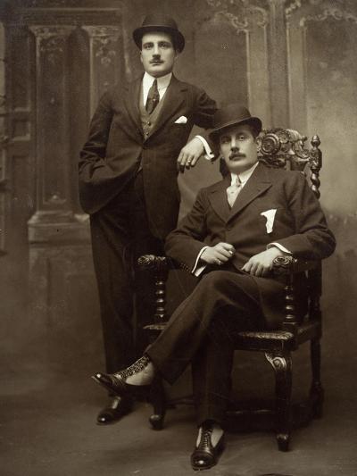 Giacomo Puccini--Giclee Print