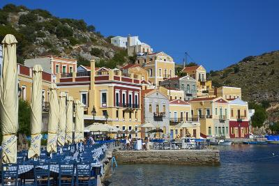 Gialos Harbour, Symi, Dodecanese, Greek Islands, Greece, Europe--Photographic Print