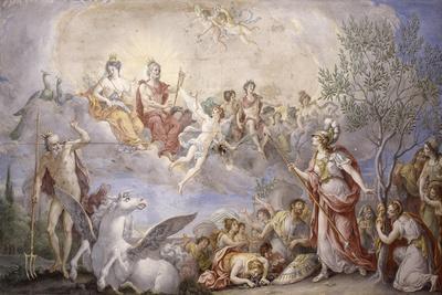 Quarrel Between Athena and Poseidon, 1787
