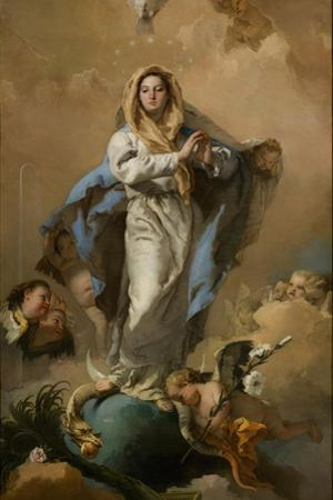 The Immaculate Conception of the Virgin, 1767-1768 by Giambattista Tiepolo