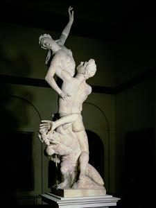 The Rape of the Sabine, circa 1583 by Giambologna