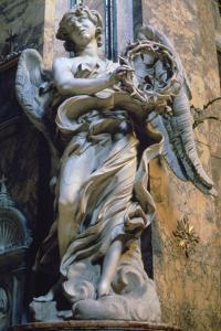 Angel with the Crown of Thorns, 1667-1669 by Gian Lorenzo Bernini