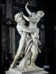 Bernini Gian Lorenzo, The Rape of Prosperpina, 1621-1622. Borghese Gallery, Rome, Italy by Gian Lorenzo Bernini