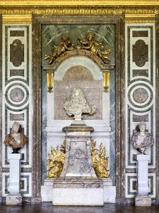 Bust of Louis XIV, Salon De Diane, Grand Apartment, Chateau De Versailles, France, 17th Century by Gian Lorenzo Bernini
