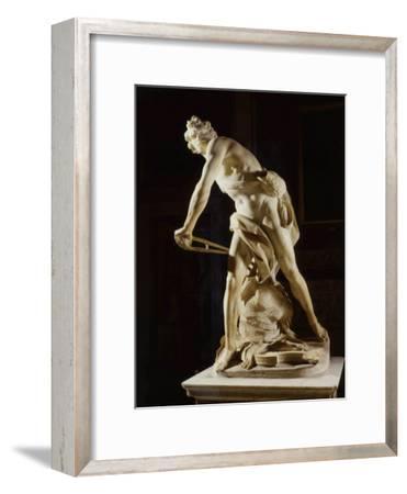 David, 1622-24, marble