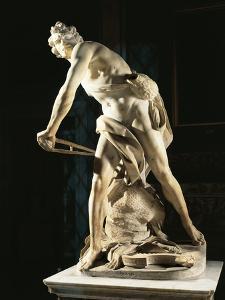 David, 1623-1624 by Gian Lorenzo Bernini