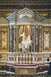 Ecstasy of St. Teresa of Avila, 1647-1652 by Gian Lorenzo Bernini