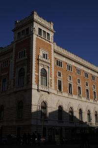Italian Chamber of Deputies, Exterior, Rome by Gian Lorenzo Bernini