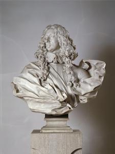 Marble Bust of Francesco I D'Este Duke of Modena by Gian Lorenzo Bernini