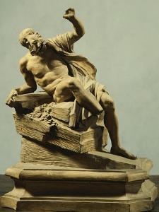 Rio De La Plata, Detail from Fountain of Four Rivers by Gian Lorenzo Bernini