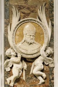 San Marco, Relief by Gian Lorenzo Bernini