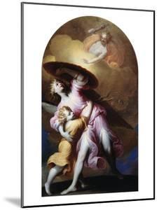 The Guardian Angel by Gian Lorenzo Bernini