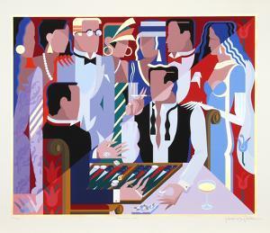 Backgammon Players by Giancarlo Impiglia