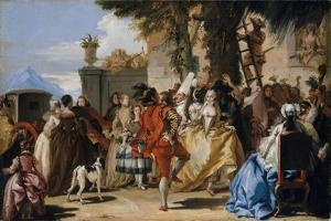 A Dance in the Country, c.1755 by Giandomenico Tiepolo