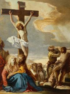 Christ Crucified, Stations of the Cross, 1747 by Giandomenico Tiepolo