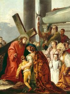 Jesus Consoles the Women of Jerusalem, Stations of the Cross, 1747 by Giandomenico Tiepolo