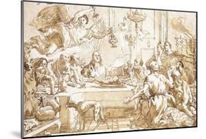 The Last Supper by Giandomenico Tiepolo