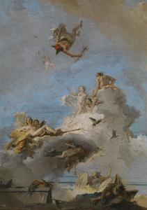 The Triumph of Venus, Between 1762 and 1765 by Giandomenico Tiepolo