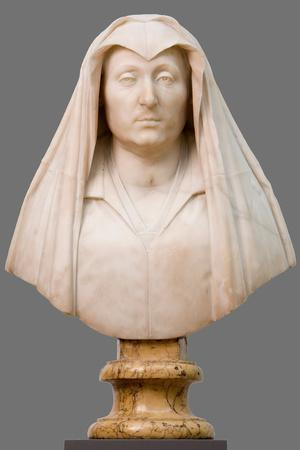 Bust of Camilla Barbadori, Mother of Pope Urban VIII Barberini, 1619